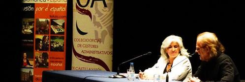 patrocinio Colegio encuentro Luis Eduardo Aute